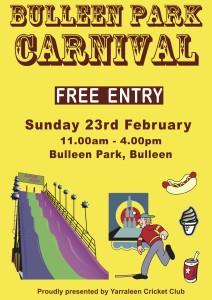 Bulleen Park Carnival_A4