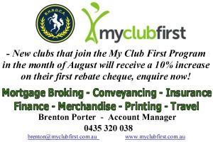my club first adv