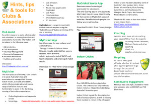 Hints tips Tools for Clubs Associations-1