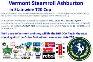 t20 win for vermont