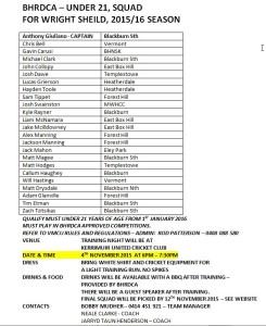 u21 squad 2015