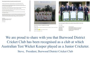 POST FOR BURWOOD DCC