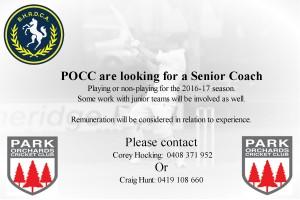 pocc adv for coach 2016 17
